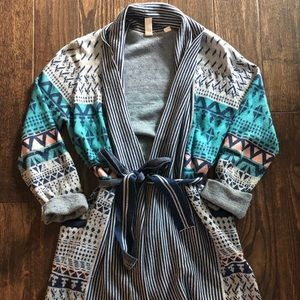 Anthropologie Joseph + Konrad sweater cardigan